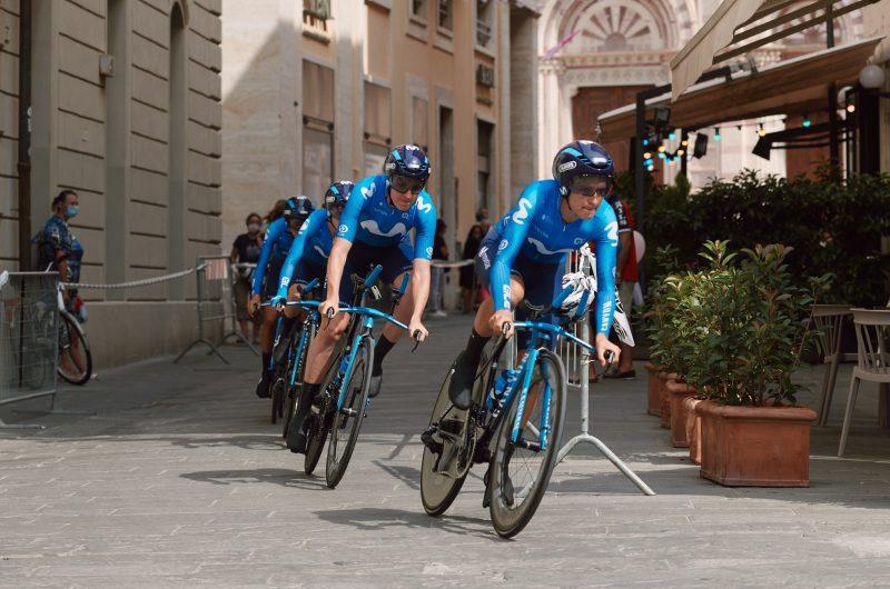 Imagen de la noticia 'Movistar Team takes 12th in Giro Rosa opening TTT'