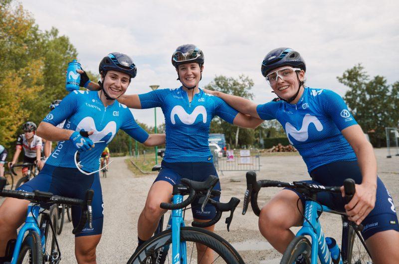Imagen de la noticia 'Courageous Movistar Team completes Tour de l'Ardèche with good results'