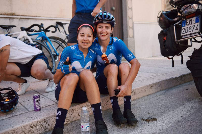 Imagen de la noticia 'Patiño 8th in Giro Rosa GC after brilliant late breakaway'