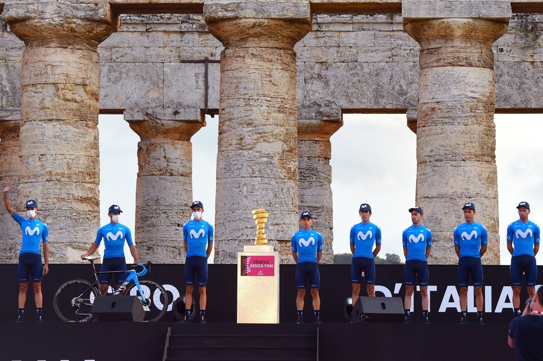 Imagen de la noticia 'Movistar Team covers first steps in 2020 Giro'