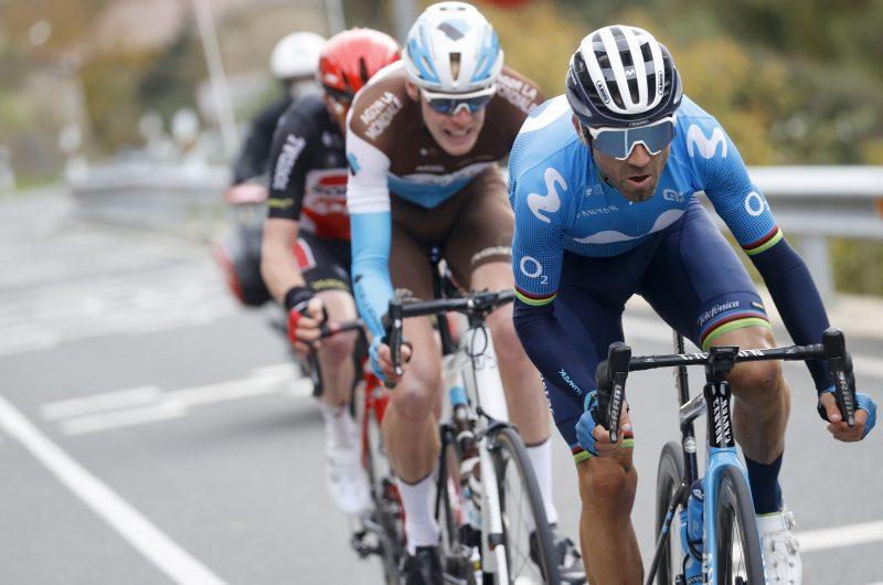 Imagen de la noticia 'Valverde (3rd) magnificent with 100km break in Álava'