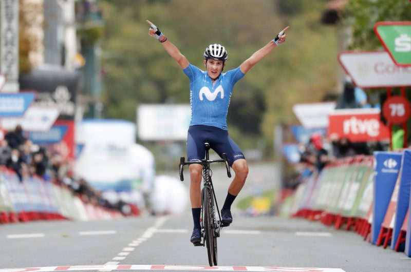 Imagen de la noticia 'Marc Soler rewards Movistar Team's efforts with long-awaited La Vuelta stage win'