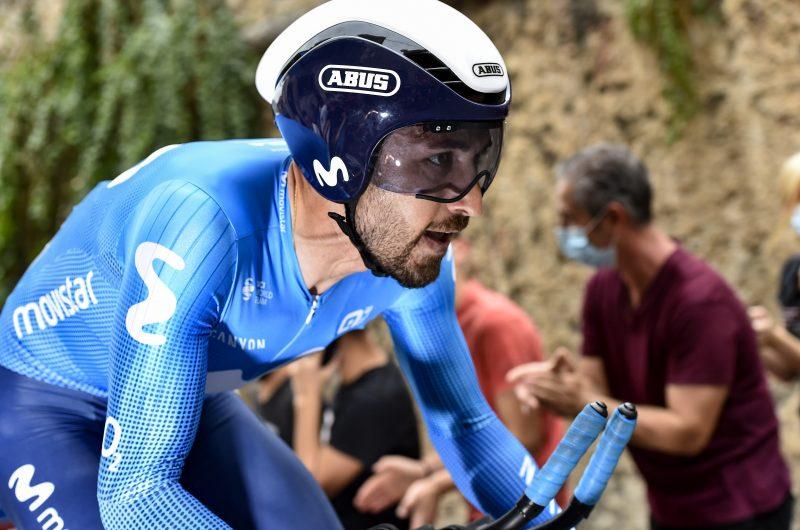 News' image'Movistar Team salva los peligros en el arranque CRI del Giro'