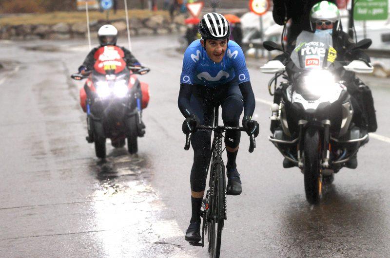 Imagen de la noticia 'Soler, Mas, Movistar Team battle at grueling Formigal finish'