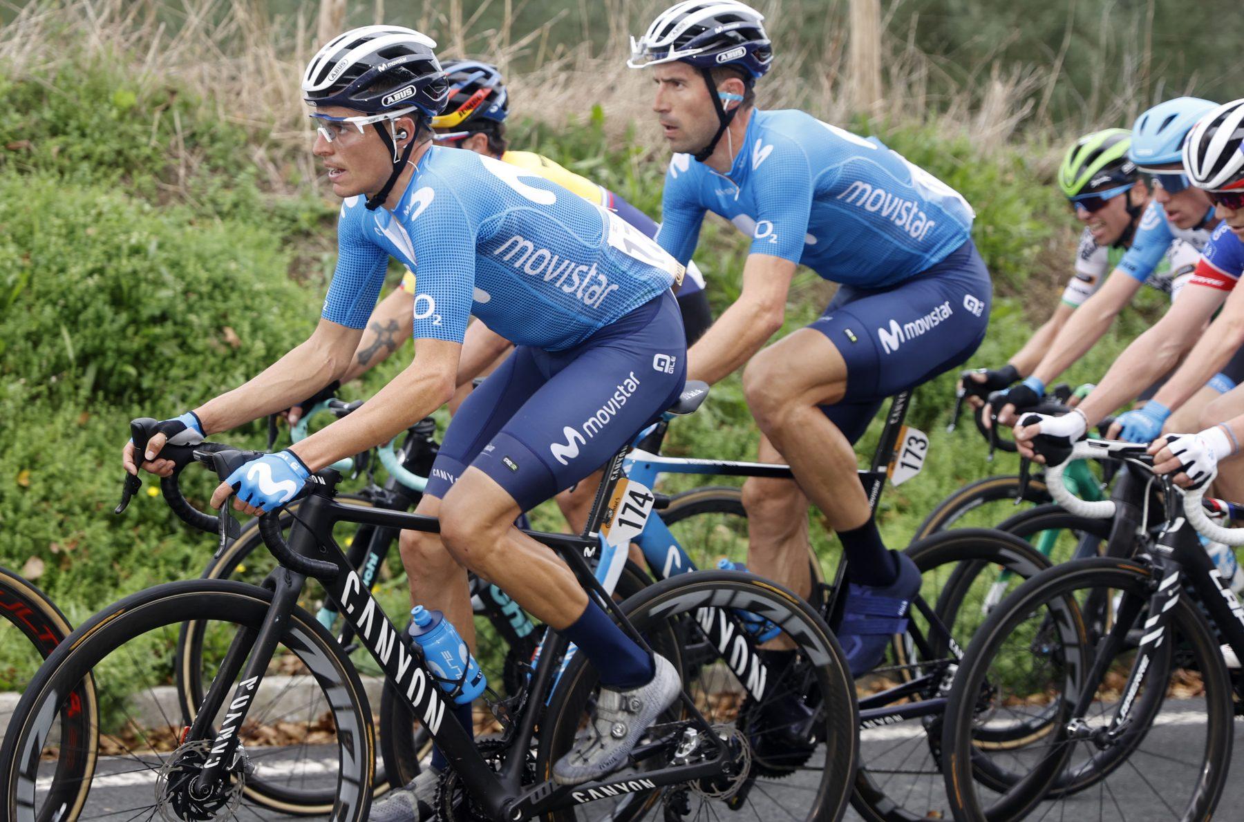 News' image'Enric Mas (6º), desde el primer día en la lucha por La Vuelta'