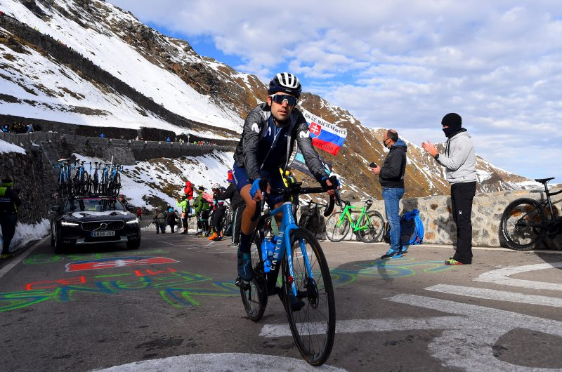 Imagen de la noticia 'Samitier, Pedrero, Cataldo into Queen stage breakaway over Stelvio'