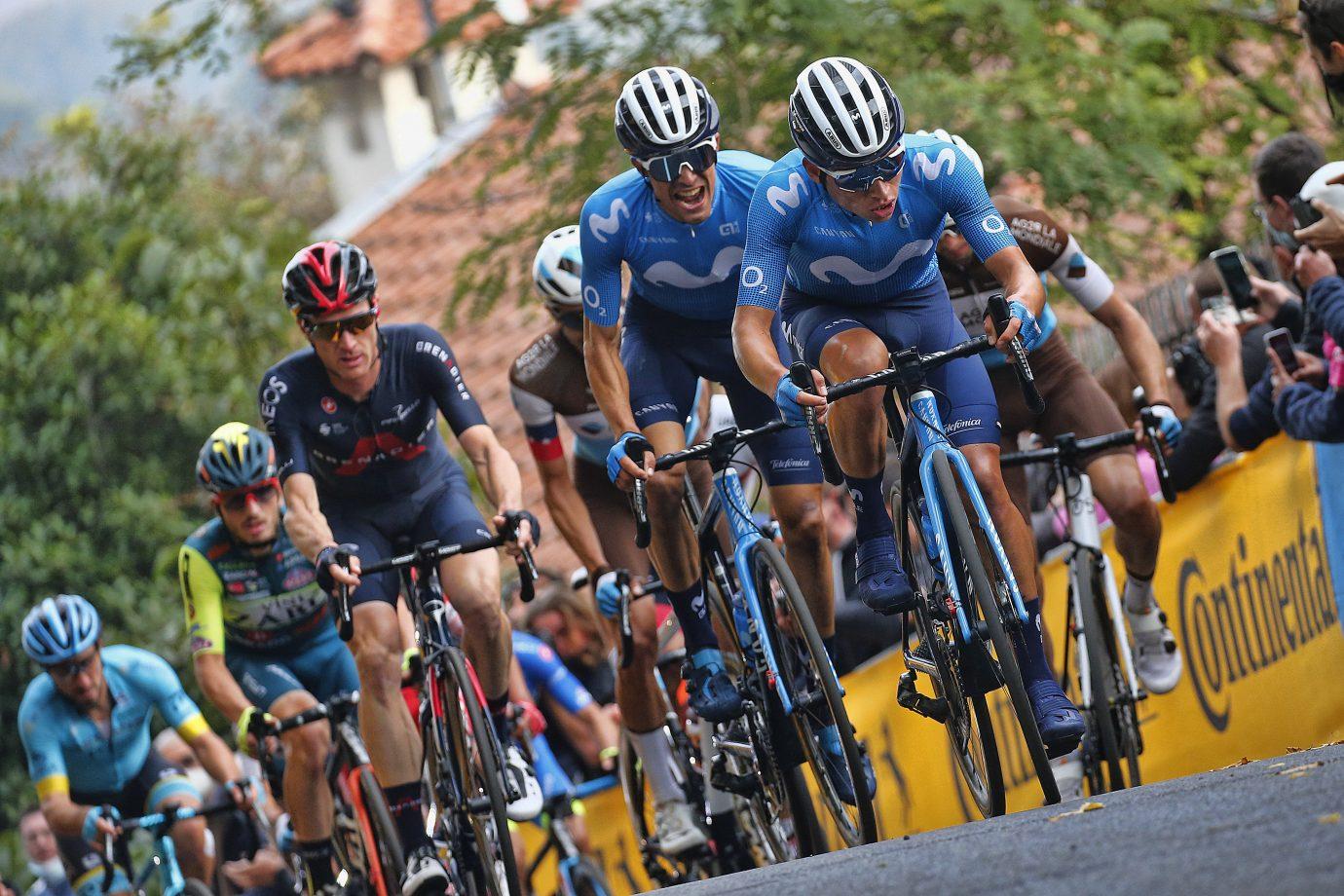 News' image'Samitier (13º) y Rubio, otro día en la brecha en San Daniele del Friuli'