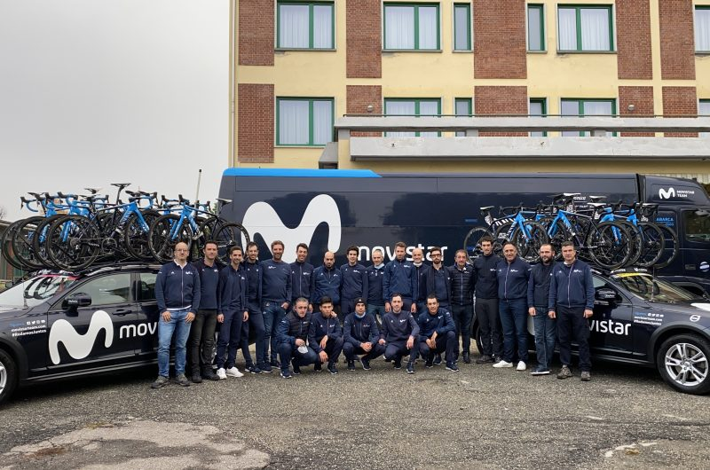 Imagen de la noticia '2020 Giro comes to end for encouraging, young Movistar Team'