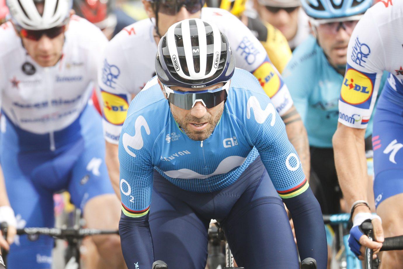 Imagen de la noticia 'Valverde (4th) squeezes Movistar Team's penultimate chance in Ciudad Rodrigo'