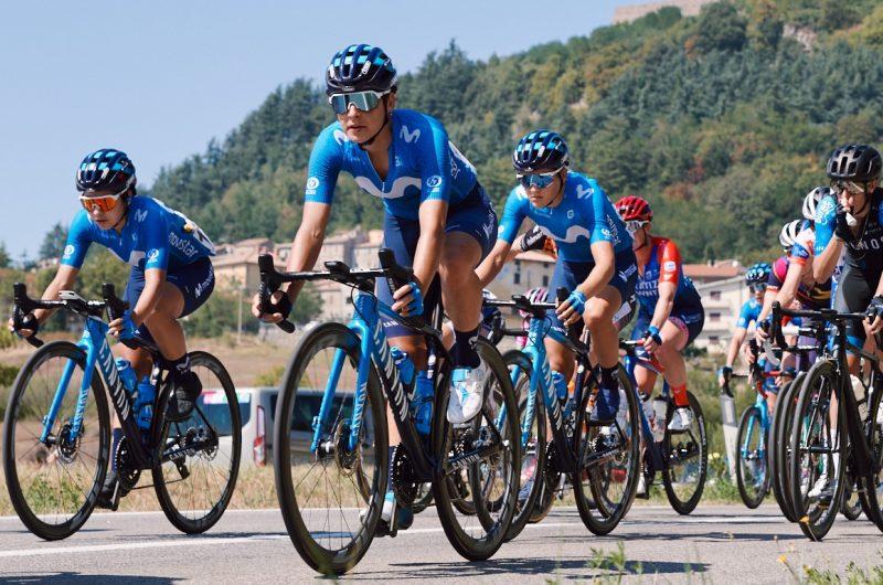 News' image'Movistar Team completa su plantilla femenina más potente: Van Vleuten, Thomas, Norsgaard y 14 ciclistas'