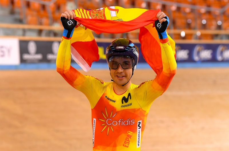 Imagen de la noticia 'Sebastián Mora conquers European Points Race title'