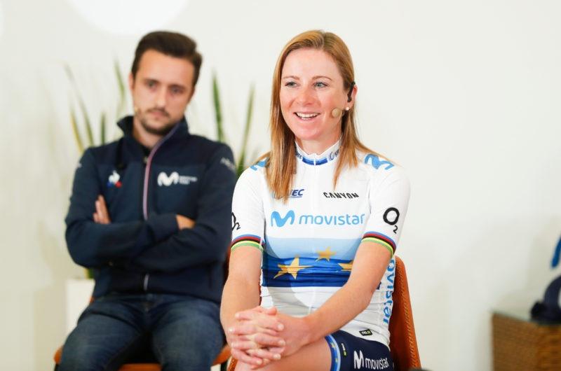 Imagen de la noticia 'Movistar Team Talks: Annemiek van Vleuten, Season Finale'