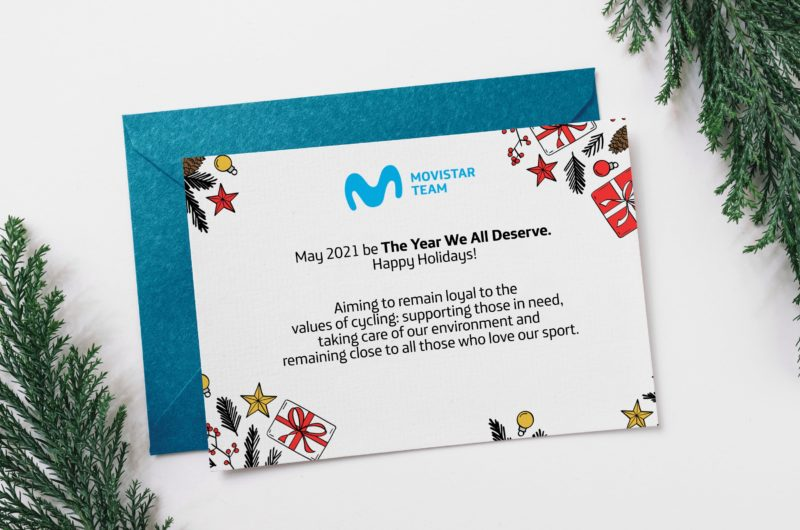 Imagen de la noticia ''The Year We All Deserve' – Season's Greetings from the Movistar Team'