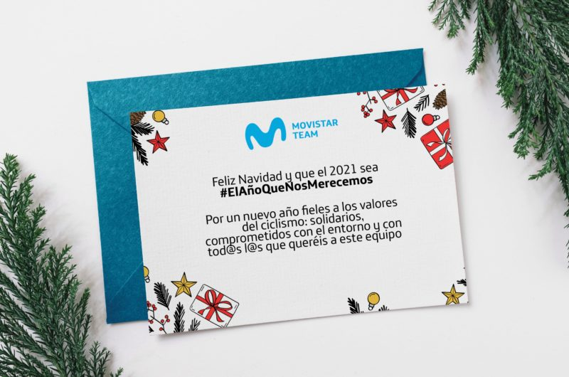 News' image''El Año Que Nos Merecemos': El deseo navideño de Movistar Team'