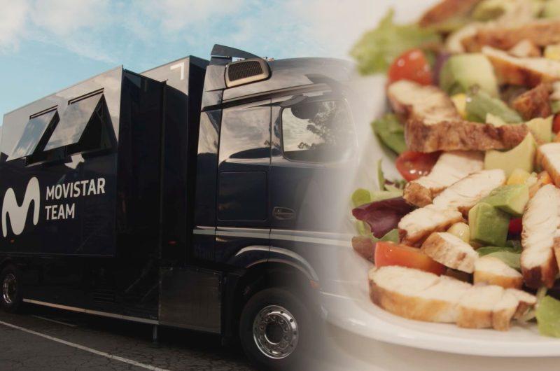 News' image'Así es el nuevo camión cocina de Movistar Team'