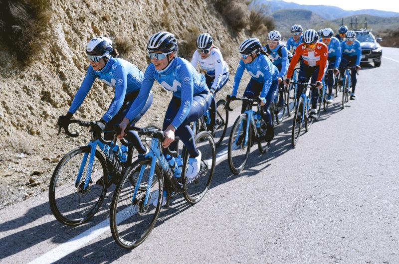 Imagen de la noticia 'Gallery: Women's Movistar Team at the Almería training camp'