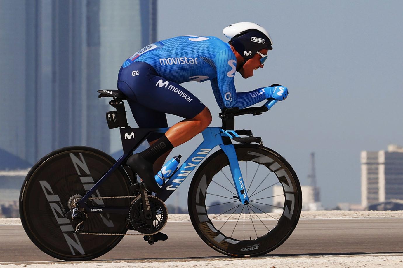 Imagen de la noticia 'Track specialist Torres top Movistar Team performer at fast-paced ITT'