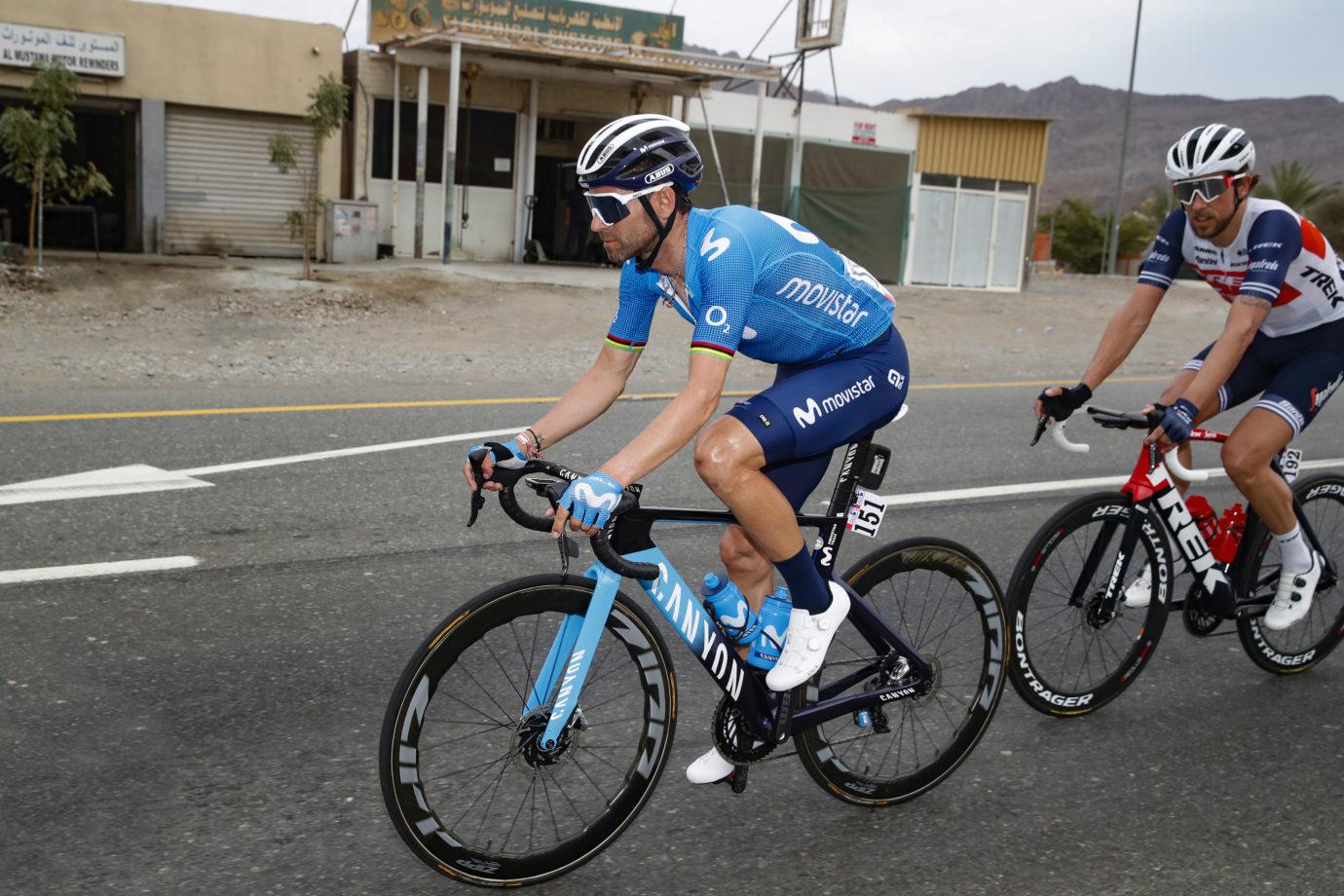 News' image'Valverde sigue mejorando su forma en Jebel Jais'