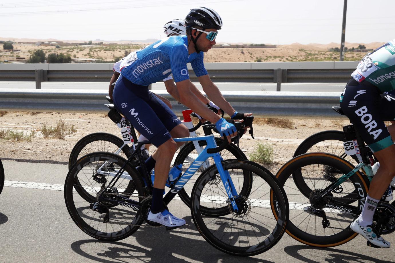 Imagen de la noticia 'Villella top Movistar Team finisher at Jebel Hafeet'