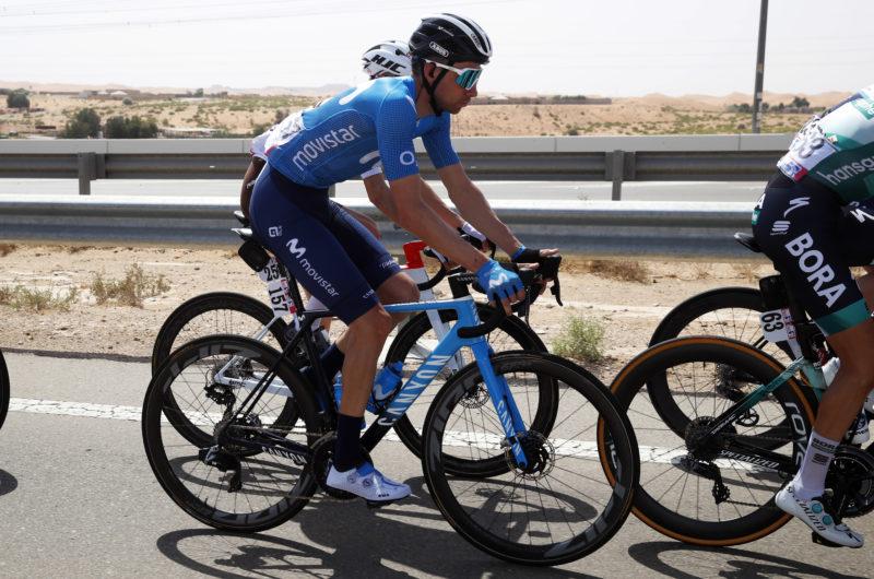 News' image'Villella, primer 'movistar' en Jebel Hafeet'