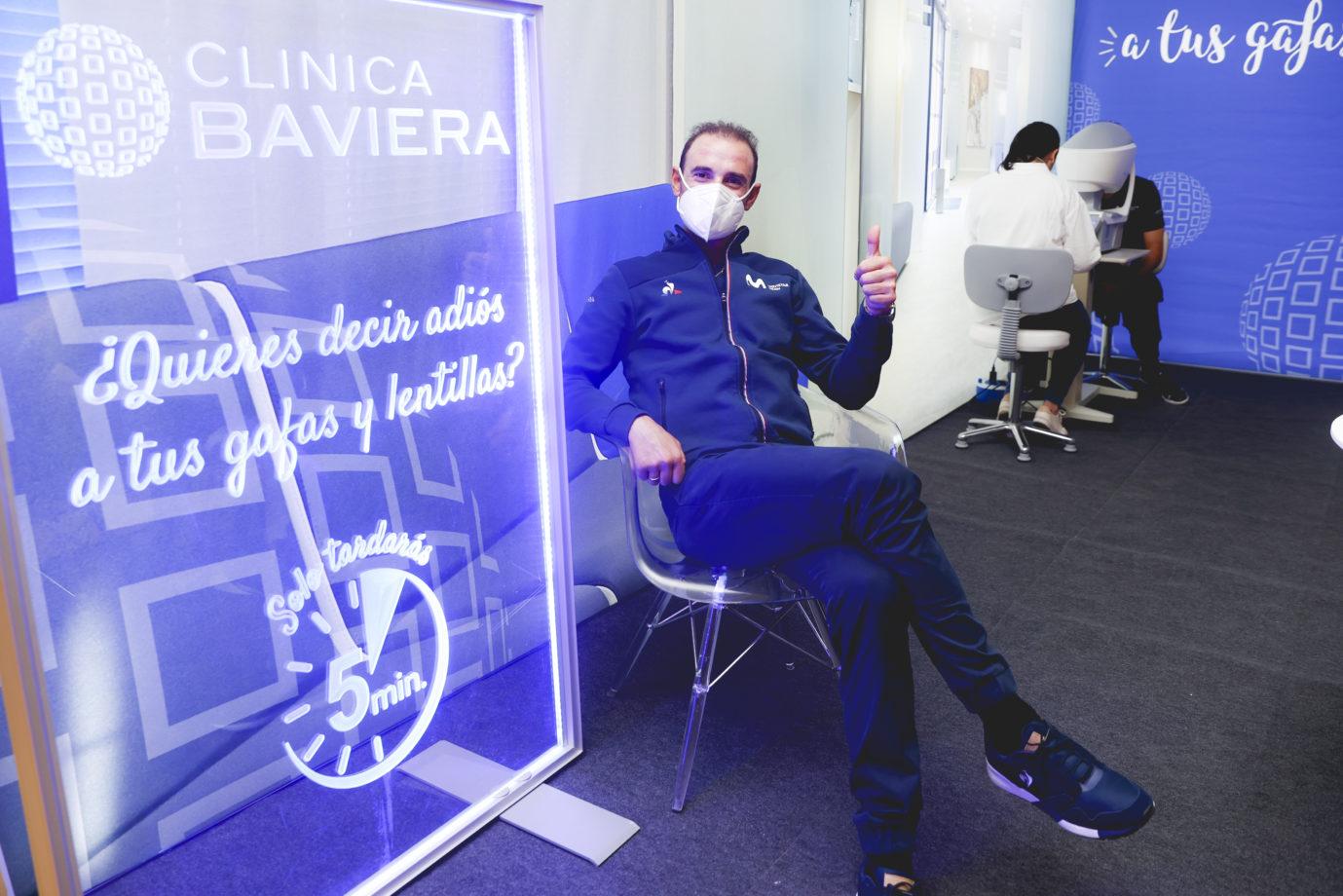 News' image'Clinica Baviera cuidará de la salud visual de Movistar Team'
