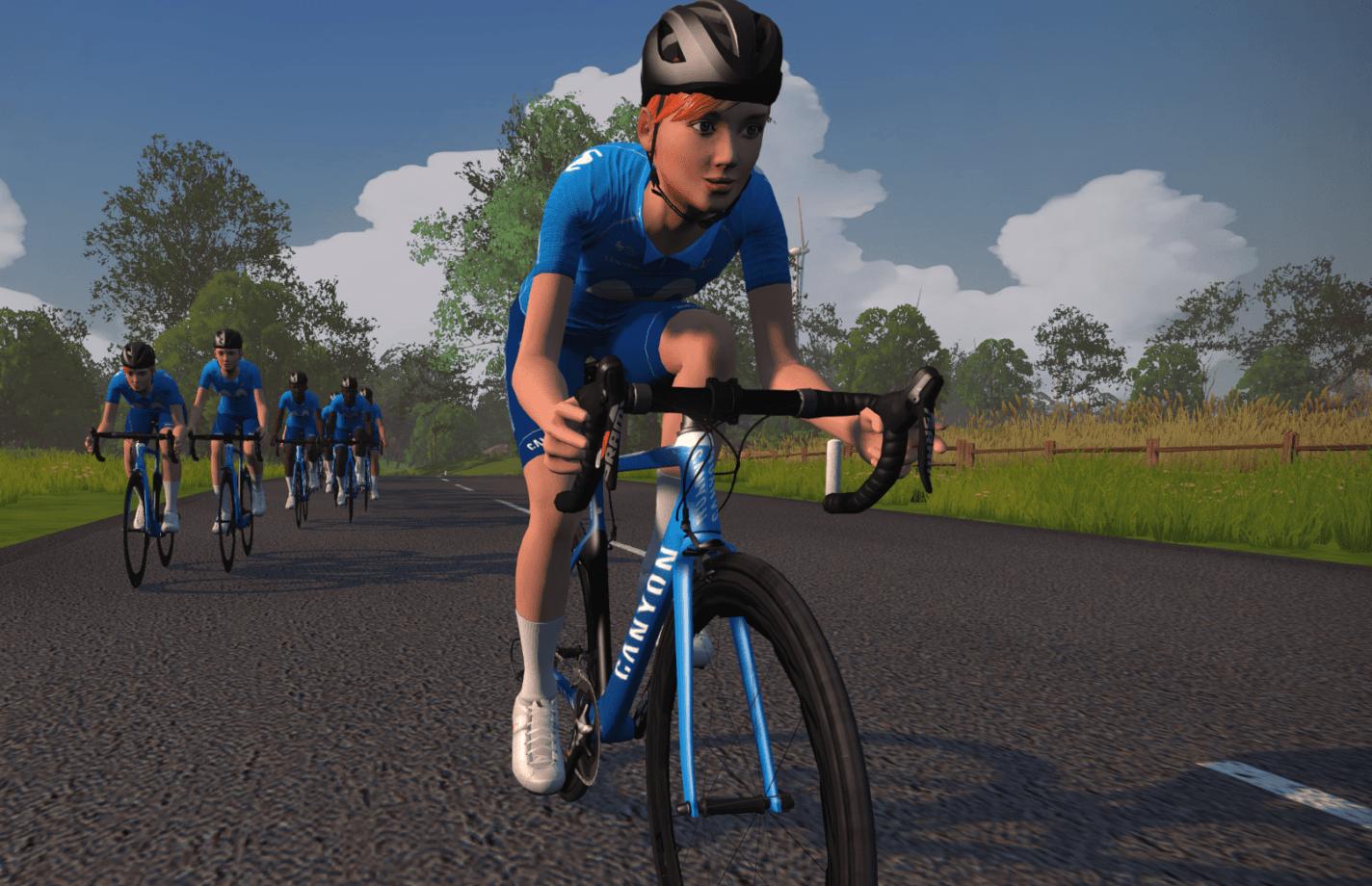 News' image'Los 2 ciclistas españoles del Movistar eTeam, en juego a través de PETA-Z'