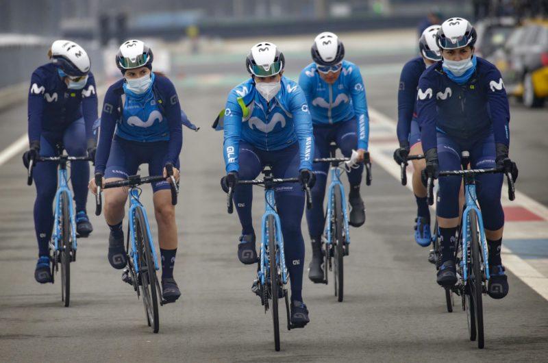 Imagen de la noticia 'Movistar Team-work unrewarded in Assen'