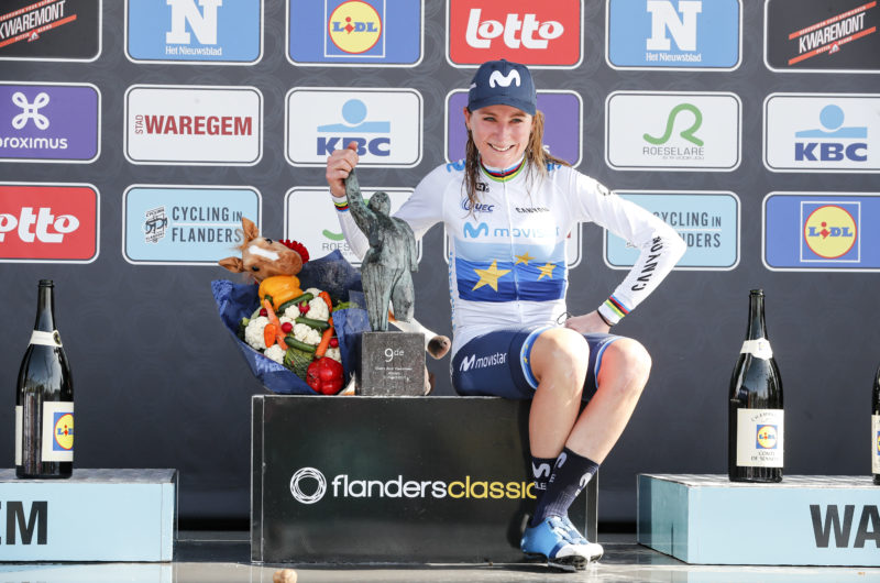 News' image'Van Vleuten estrena al Movistar Team 2021 en A Través de Flandes'