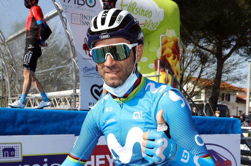 News' image'Valverde (8º), cada vez con mejores sensaciones en Larciano'