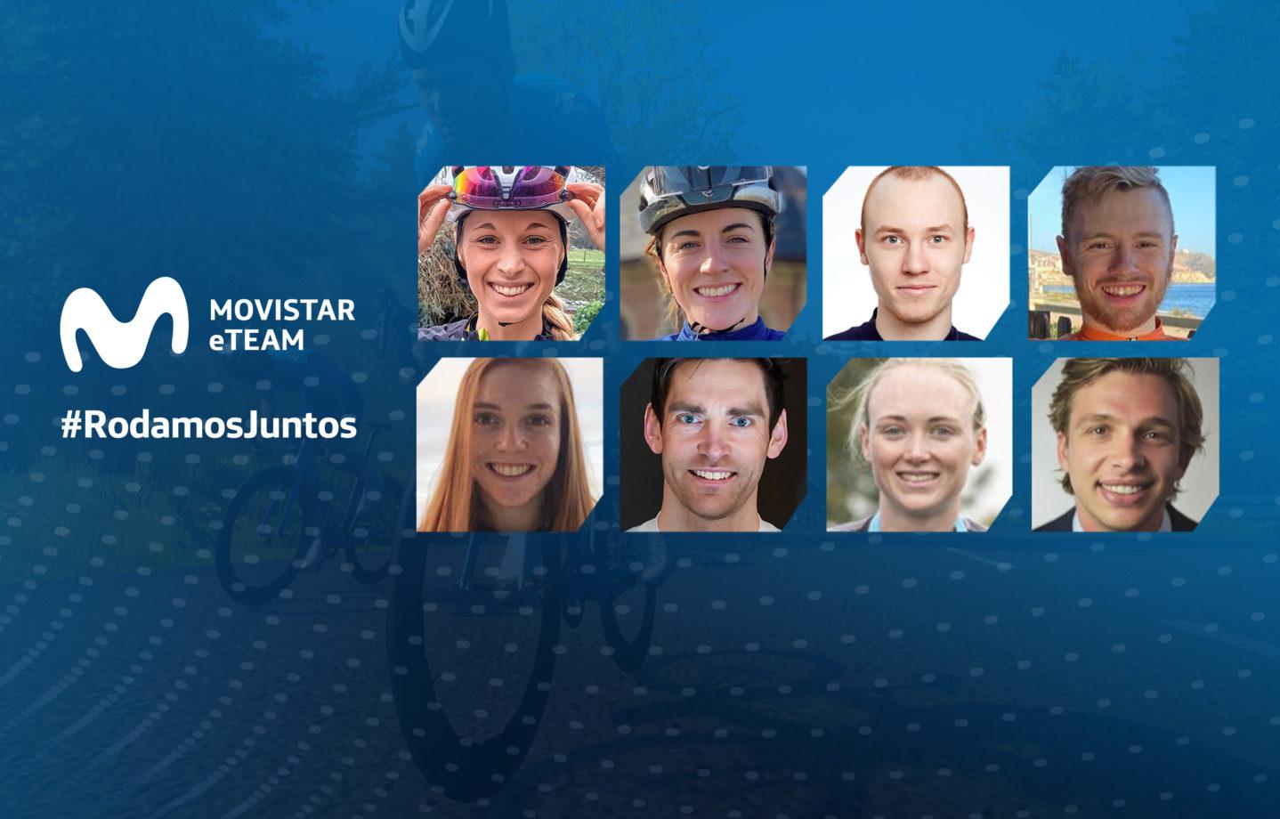 Imagen de la noticia 'Movistar eTeam announces eight-rider international lineup'
