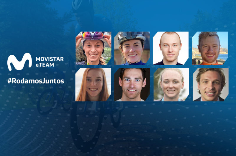 Imagen de la noticia 'Movistar eTeam announces eight-rider international lineup'