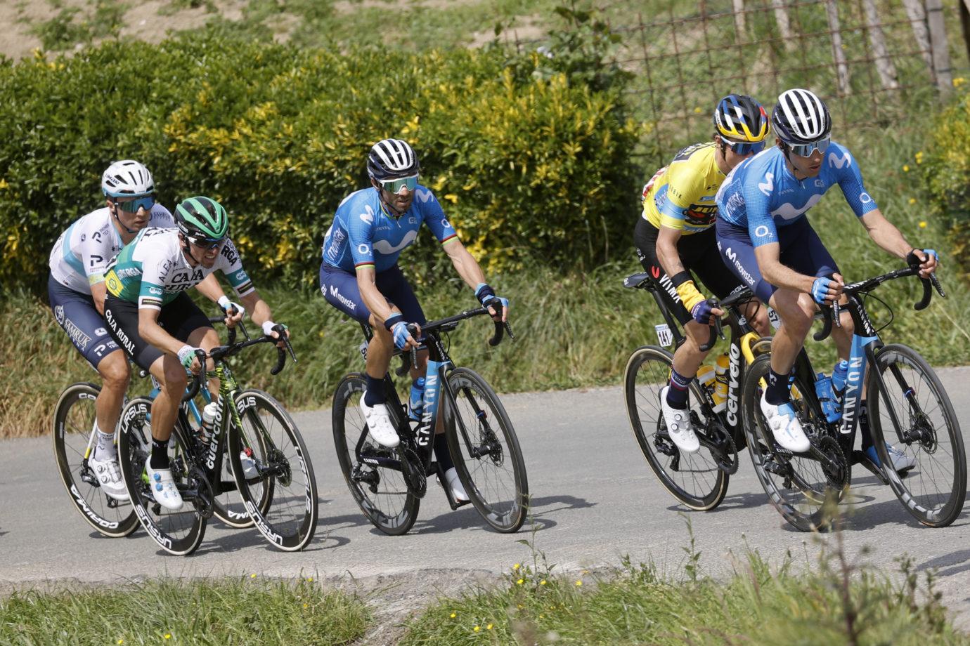 Imagen de la noticia 'Itzulia again wide open after Erlaitz climb; Valverde now 8th overall'
