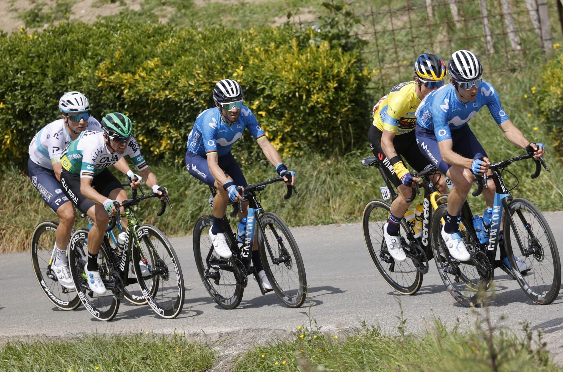 News' image'Erlaitz abre la Itzulia; Valverde es ahora 8º'
