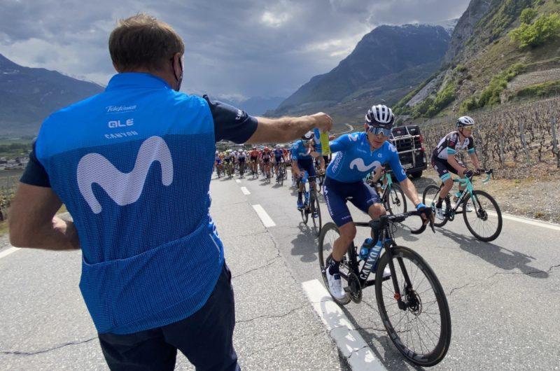 Imagen de la noticia 'López, Soler away from trouble at Martigny'