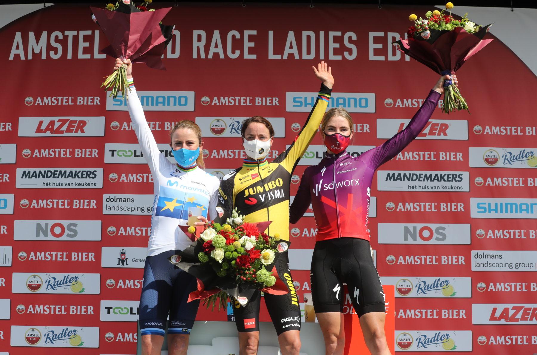 News' image'Van Vleuten vuelve a ser protagonista en la Amstel Gold Race (3ª)'