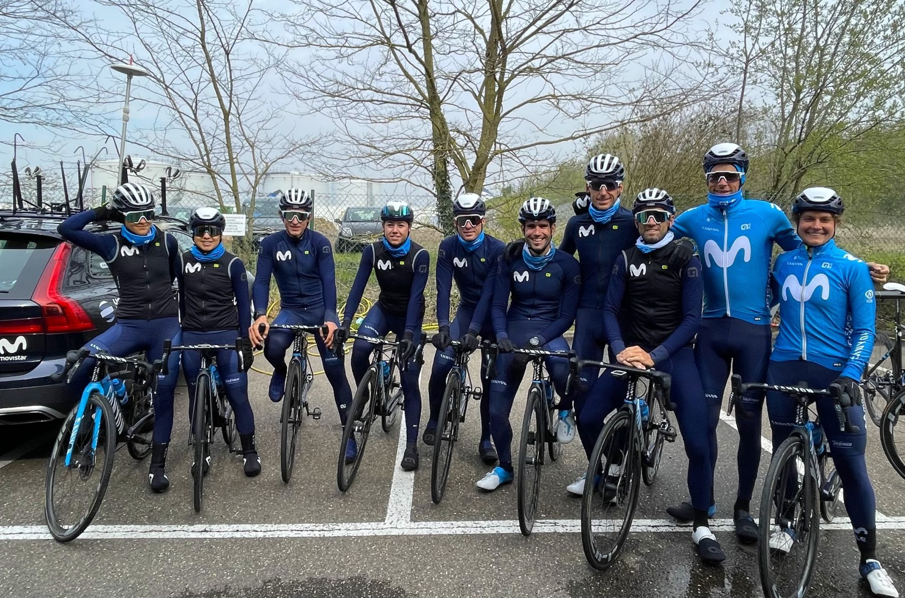 Imagen de la noticia 'Movistar Team to Flèche Wallonne (Wednesday 21st)'