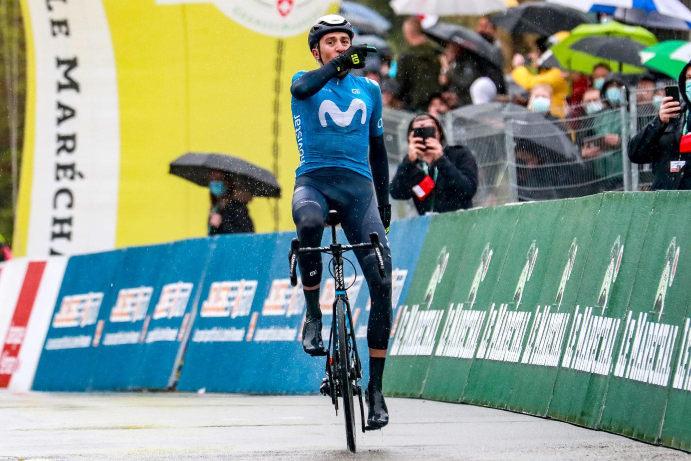 Imagen de la noticia 'Marc Soler takes big solo win, leads Tour de Romandie'