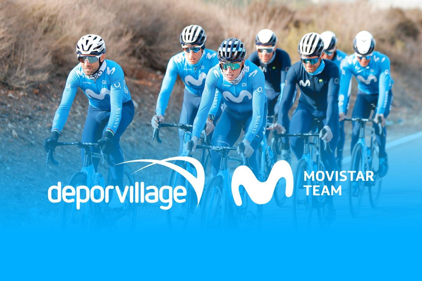 Imagen de la noticia 'Deporvillage launches Movistar Team's new official shop'