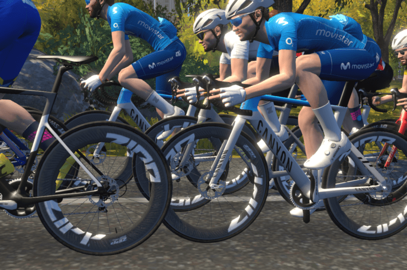 News' image'5º y 6º lugares para Movistar eTeam en la Race 3 de la Zwift Racing League'