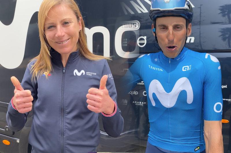 Imagen de la noticia 'Movistar Team stars send their support to new eTeam members'