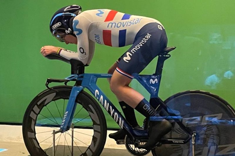 Imagen de la noticia 'Van Vleuten, Mas, Thomas complete two-day aero testing in the Netherlands'