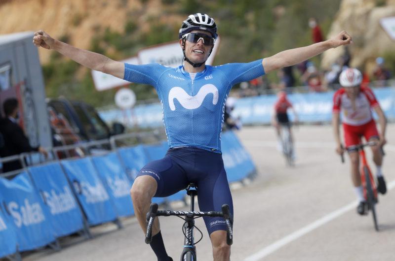 Imagen de la noticia 'Enric Mas claims first victory in Movistar Team colours'