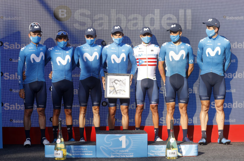 Imagen de la noticia 'Oliveira, Mas on GC podium at Volta a la Comunitat Valenciana'