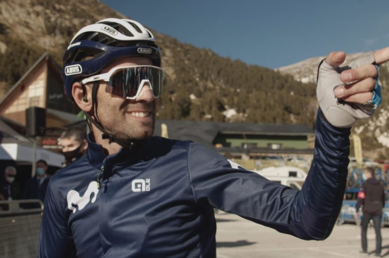 Imagen de la noticia 'One more 'Bala': Valverde and the Movistar Team at the 2021 Volta a Catalunya'