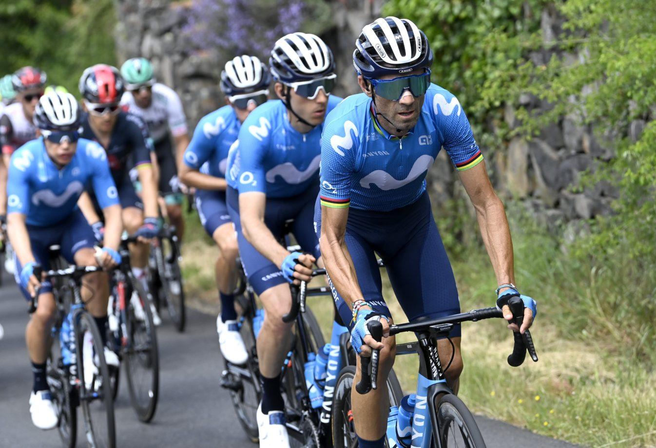 News' image'Valverde (3º) se asoma al triunfo en Saugues'