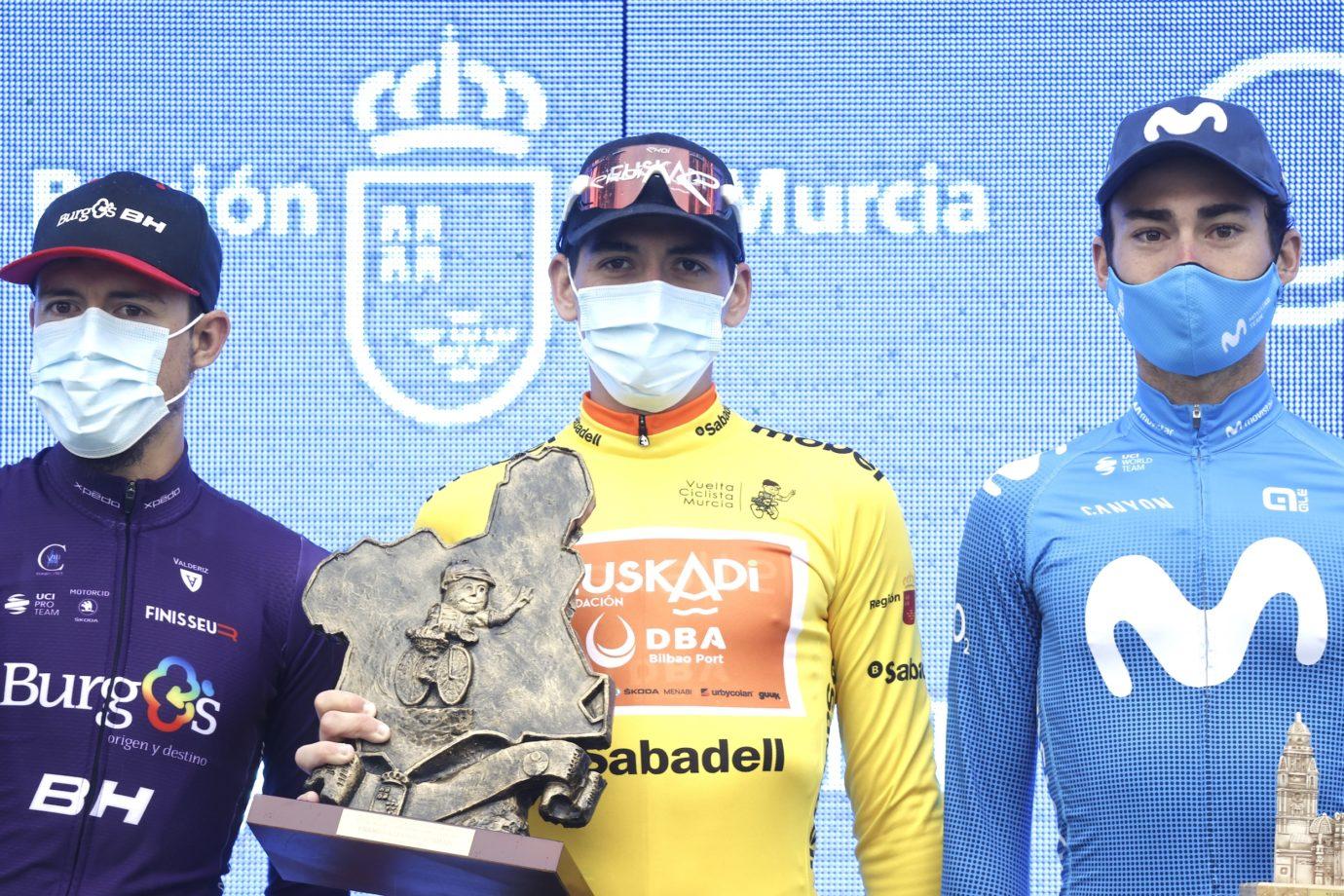 Imagen de la noticia 'Serrano (3rd), Rojas (4th) near the top under Murcia deluge'