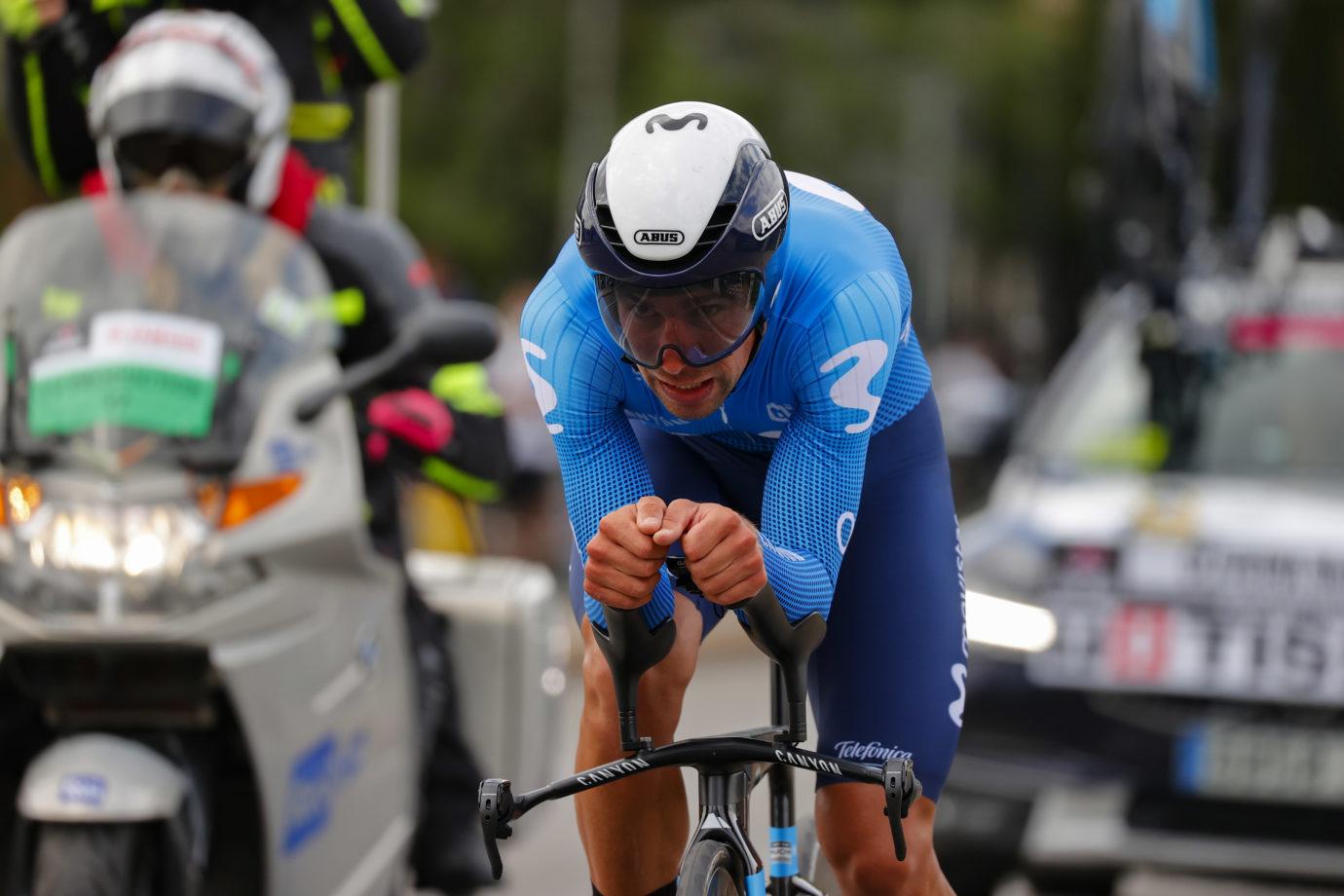 Imagen de la noticia 'Oliveira top Blue performer at Giro's inaugural TT'