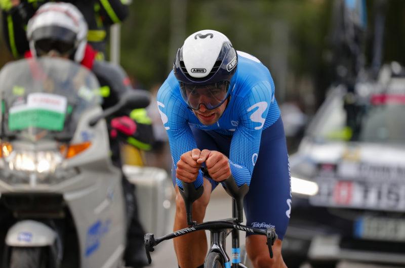 News' image'Oliveira, primer 'movistar' en la CRI de apertura del Giro'