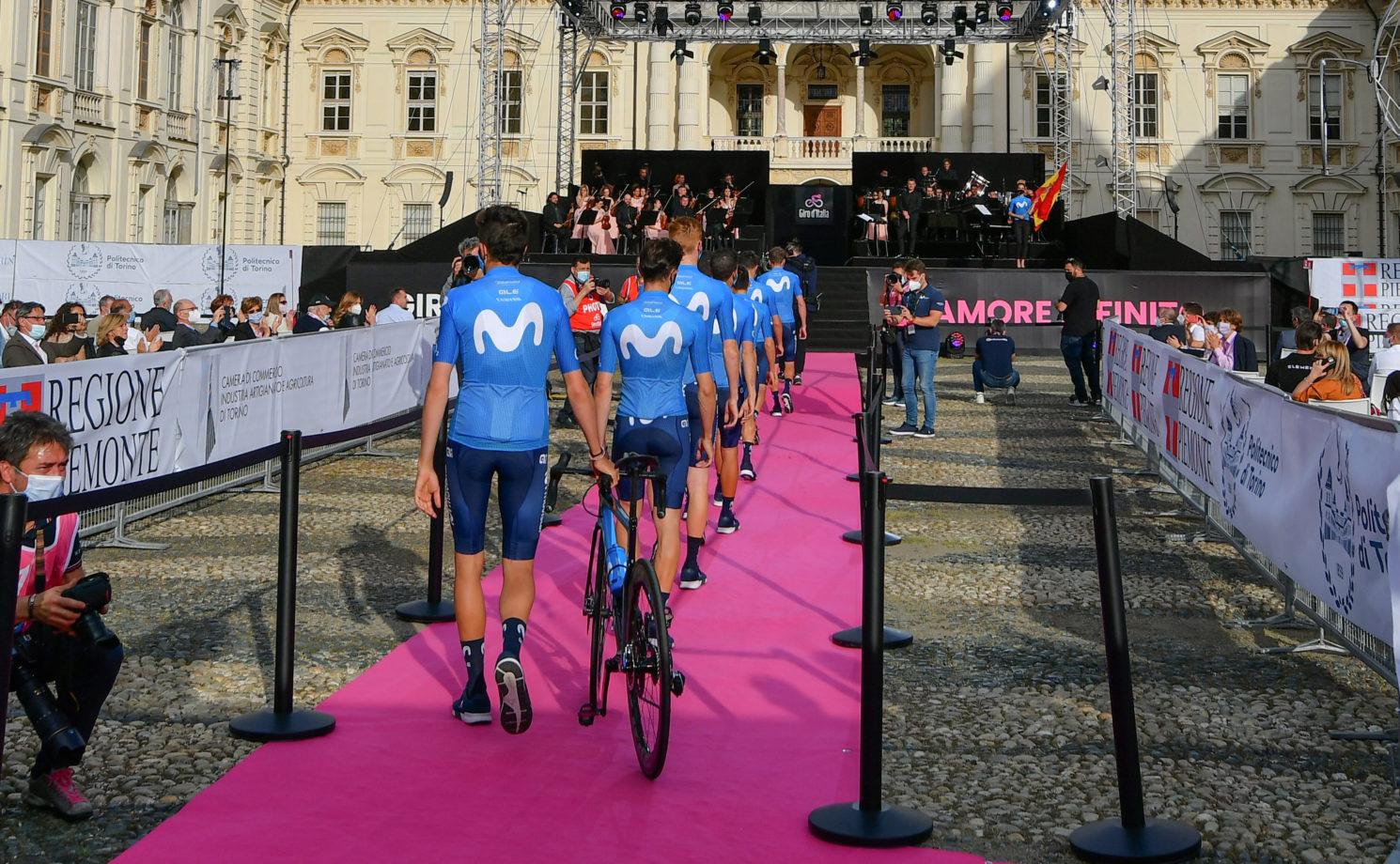 Imagen de la noticia 'Movistar Team ready to start their 26th Giro d'Italia'