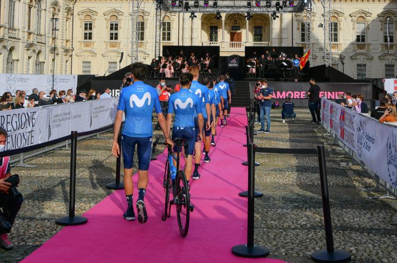 News' image'Movistar Team cuenta las horas para el arranque del Giro'